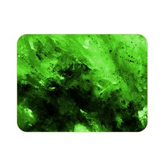 Bright Green Abstract Double Sided Flano Blanket (Mini)