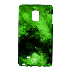 Bright Green Abstract Galaxy Note Edge