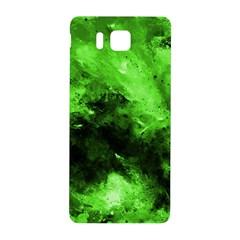 Bright Green Abstract Samsung Galaxy Alpha Hardshell Back Case