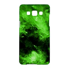 Bright Green Abstract Samsung Galaxy A5 Hardshell Case