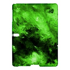 Bright Green Abstract Samsung Galaxy Tab S (10.5 ) Hardshell Case