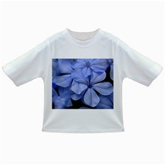Bright Blue Flowers Infant/Toddler T-Shirts
