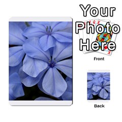 Bright Blue Flowers Multi-purpose Cards (Rectangle)