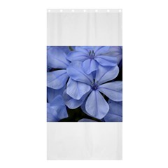 Bright Blue Flowers Shower Curtain 36  x 72  (Stall)
