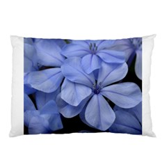 Bright Blue Flowers Pillow Cases (Two Sides)