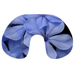 Bright Blue Flowers Travel Neck Pillows