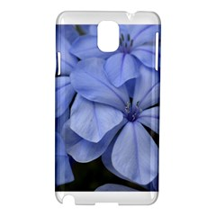 Bright Blue Flowers Samsung Galaxy Note 3 N9005 Hardshell Case