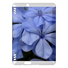 Bright Blue Flowers Kindle Fire Hdx Hardshell Case