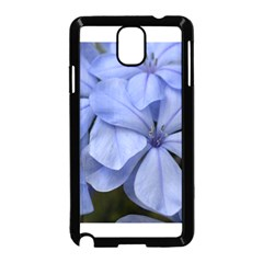 Bright Blue Flowers Samsung Galaxy Note 3 Neo Hardshell Case (Black)