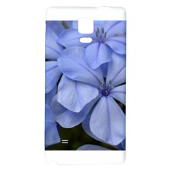 Bright Blue Flowers Galaxy Note 4 Back Case