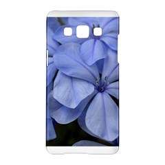 Bright Blue Flowers Samsung Galaxy A5 Hardshell Case
