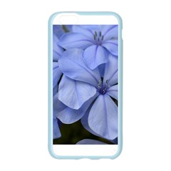 Bright Blue Flowers Apple Seamless iPhone 6 Case (Color)