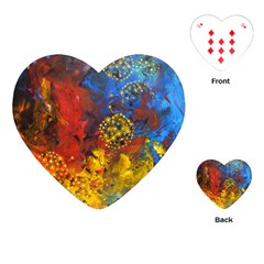 Space Pollen Playing Cards (heart)