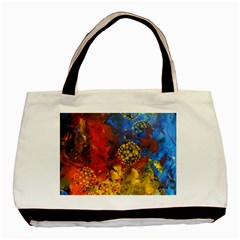 Space Pollen Basic Tote Bag (two Sides)