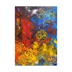 Space Pollen Shower Curtain 48  x 72  (Small)