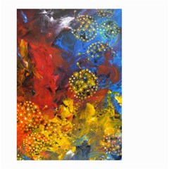 Space Pollen Small Garden Flag (two Sides)