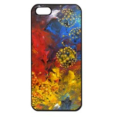 Space Pollen Apple Iphone 5 Seamless Case (black)