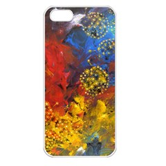 Space Pollen Apple Iphone 5 Seamless Case (white)