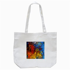 Space Pollen Tote Bag (White)