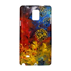 Space Pollen Samsung Galaxy Note 4 Hardshell Case