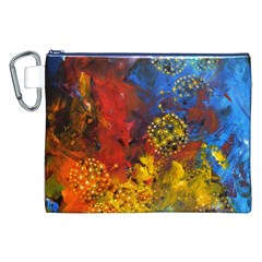 Space Pollen Canvas Cosmetic Bag (XXL)