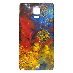 Space Pollen Galaxy Note 4 Back Case