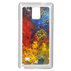 Space Pollen Samsung Galaxy Note 4 Case (White)