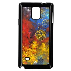 Space Pollen Samsung Galaxy Note 4 Case (black)