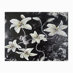 Black And White Lilies Collage 12  X 18