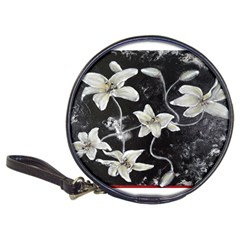 Black And White Lilies Classic 20 Cd Wallets