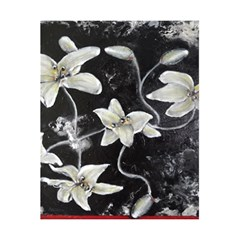 Black and White Lilies 5.5  x 8.5  Notebooks