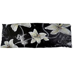 Black And White Lilies Body Pillow Cases Dakimakura (two Sides)