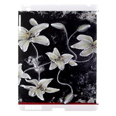 Black And White Lilies Apple Ipad 3/4 Hardshell Case (compatible With Smart Cover)