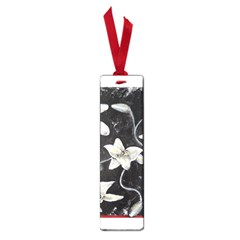 Black And White Lilies Small Book Marks