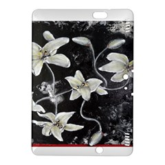 Black and White Lilies Kindle Fire HDX 8.9  Hardshell Case