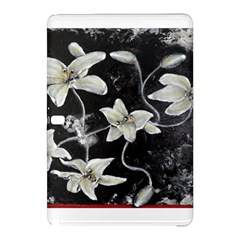 Black And White Lilies Samsung Galaxy Tab Pro 10 1 Hardshell Case