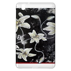 Black And White Lilies Samsung Galaxy Tab Pro 8 4 Hardshell Case