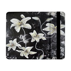 Black and White Lilies Samsung Galaxy Tab Pro 8.4  Flip Case