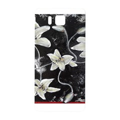 Black and White Lilies Samsung Galaxy Alpha Hardshell Back Case