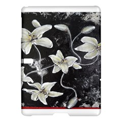 Black And White Lilies Samsung Galaxy Tab S (10 5 ) Hardshell Case