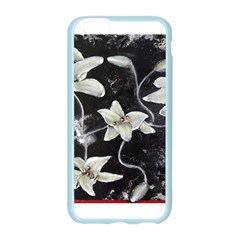 Black and White Lilies Apple Seamless iPhone 6 Case (Color)