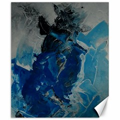 Blue Abstract Canvas 20  X 24