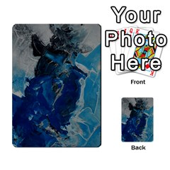 Blue Abstract Multi-purpose Cards (Rectangle)