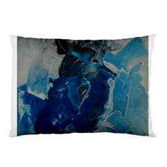 Blue Abstract Pillow Cases