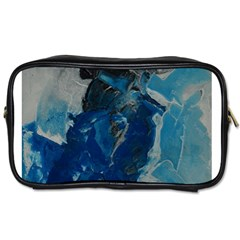 Blue Abstract Toiletries Bags