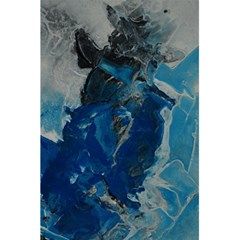 Blue Abstract 5.5  x 8.5  Notebooks