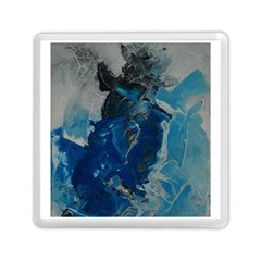 Blue Abstract Memory Card Reader (square)
