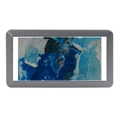 Blue Abstract Memory Card Reader (mini)
