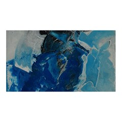 Blue Abstract YOU ARE INVITED 3D Greeting Card (8x4)