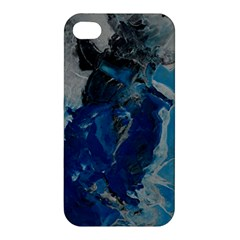 Blue Abstract Apple Iphone 4/4s Hardshell Case
